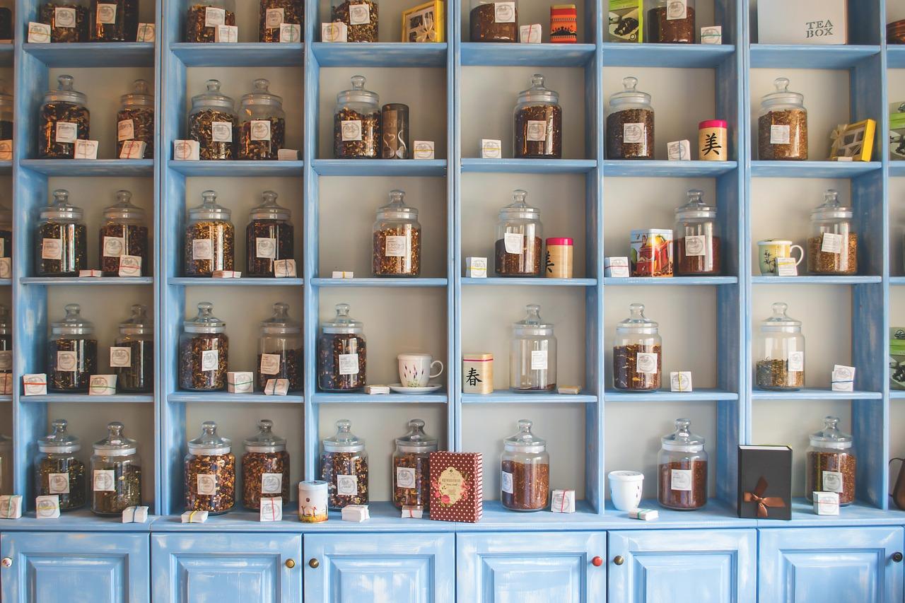 מגוון תרופות טבעיות