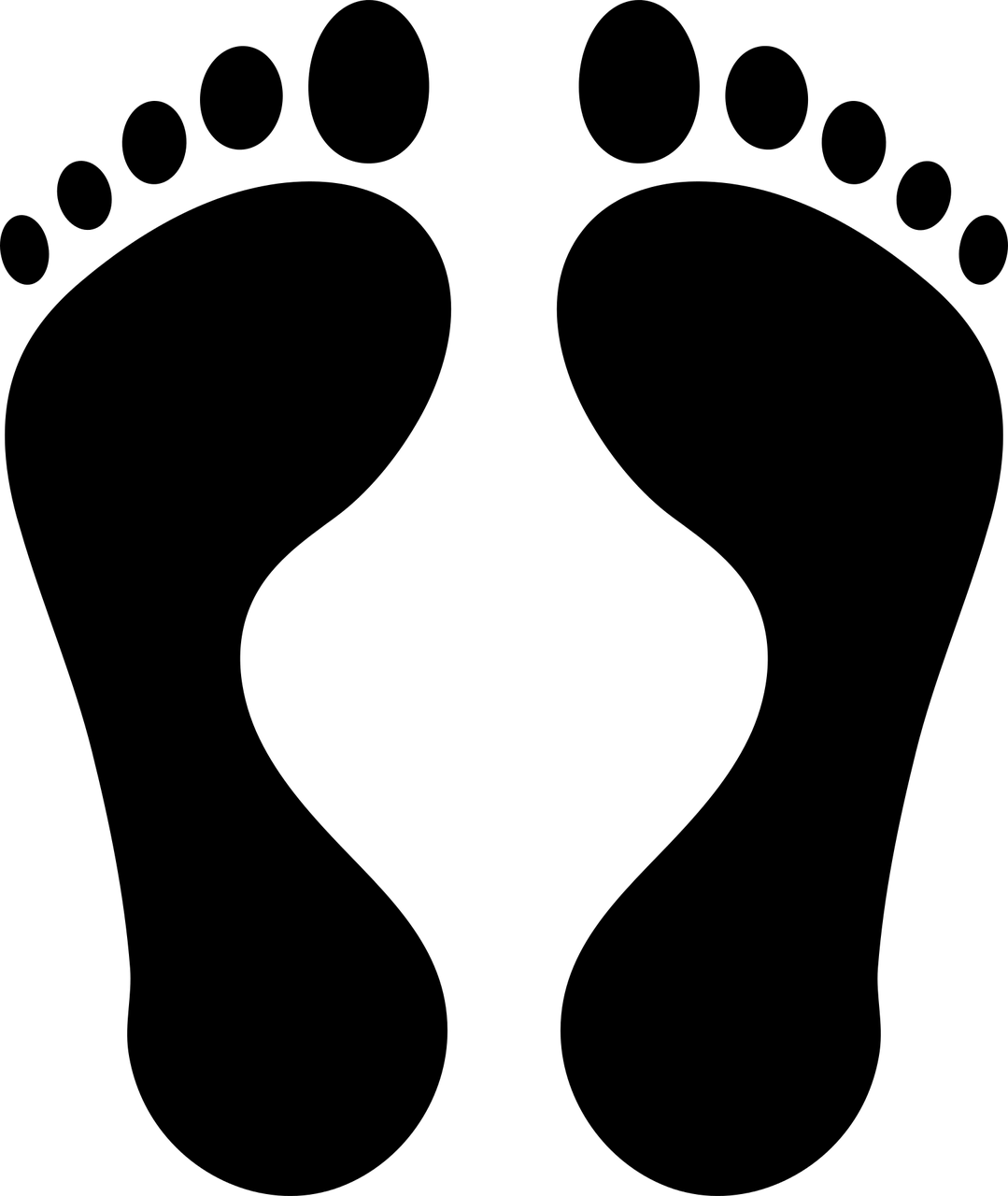ציור של כף רגל